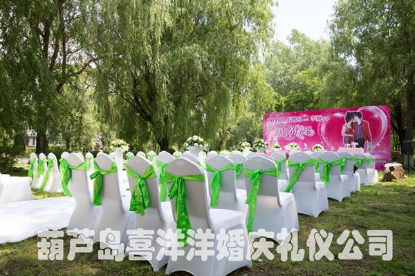 户外婚礼 - 西式婚礼:葫芦岛喜洋洋婚庆礼仪公司_婚庆